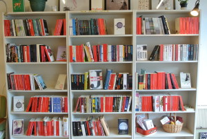 Bookshelves at AYRIL: