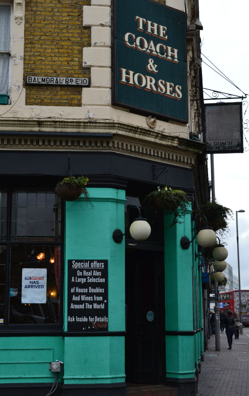 Normal-looking boozer on the outside, tardis inside. Photo: SE