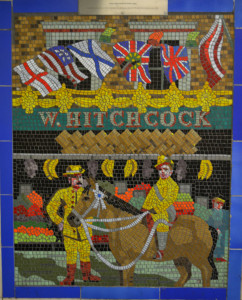 W Hitchcock's grocer shop mosaic
