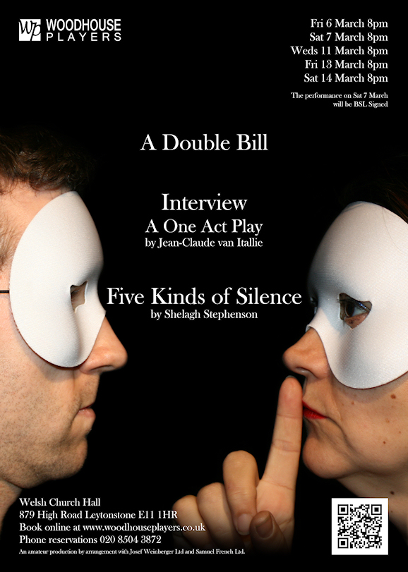Poster for Interview/Five Kinds of Silence. Photo: WP