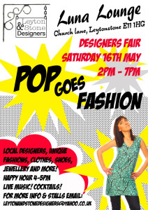 pop goes fashion flyer lo