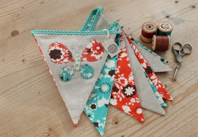 Four creative experts will help you personalise that bunting. Photo: Make E11
