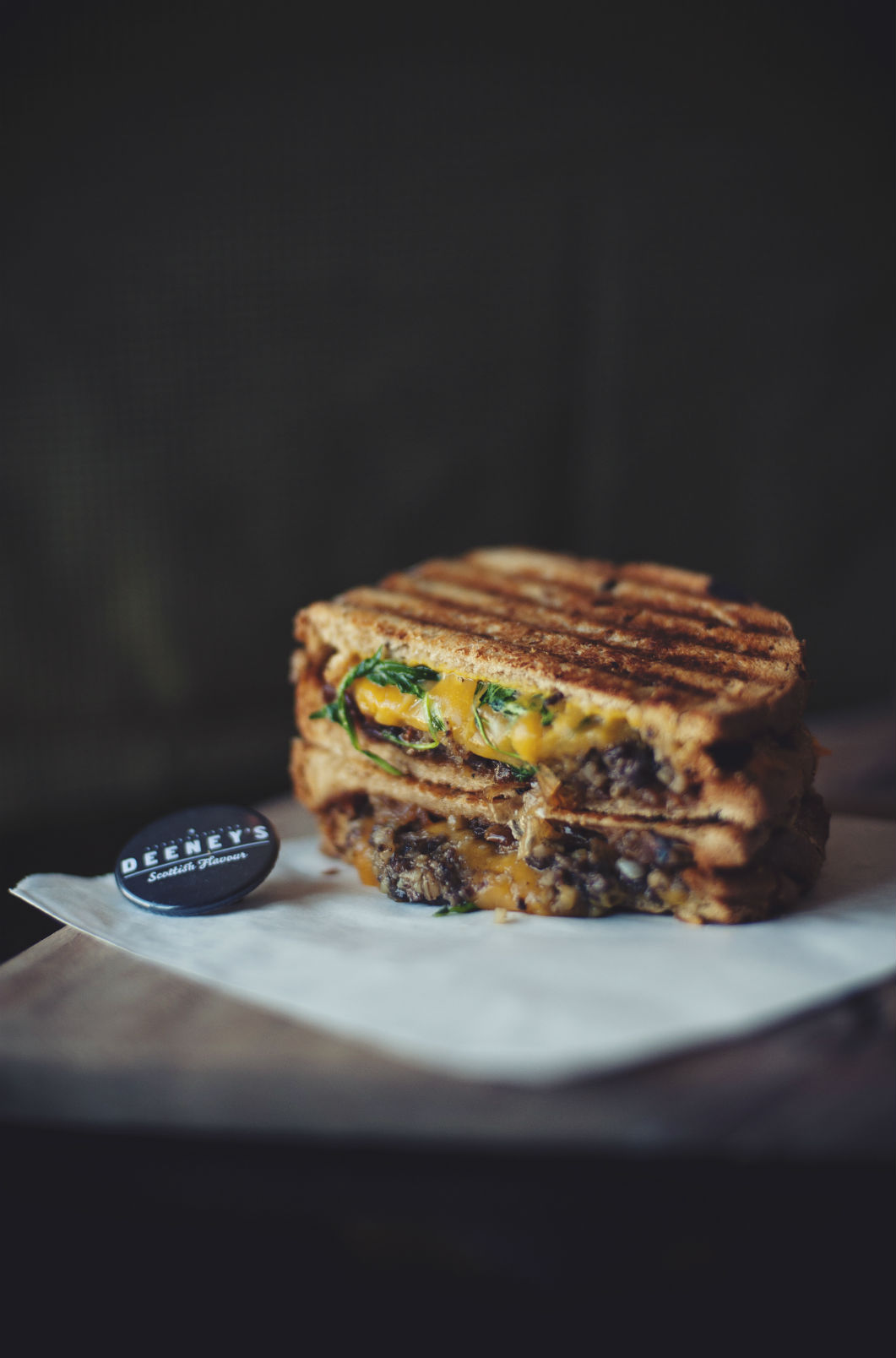 OMG. Now that's a toastie: the Macbeth. Photo: James Byrne