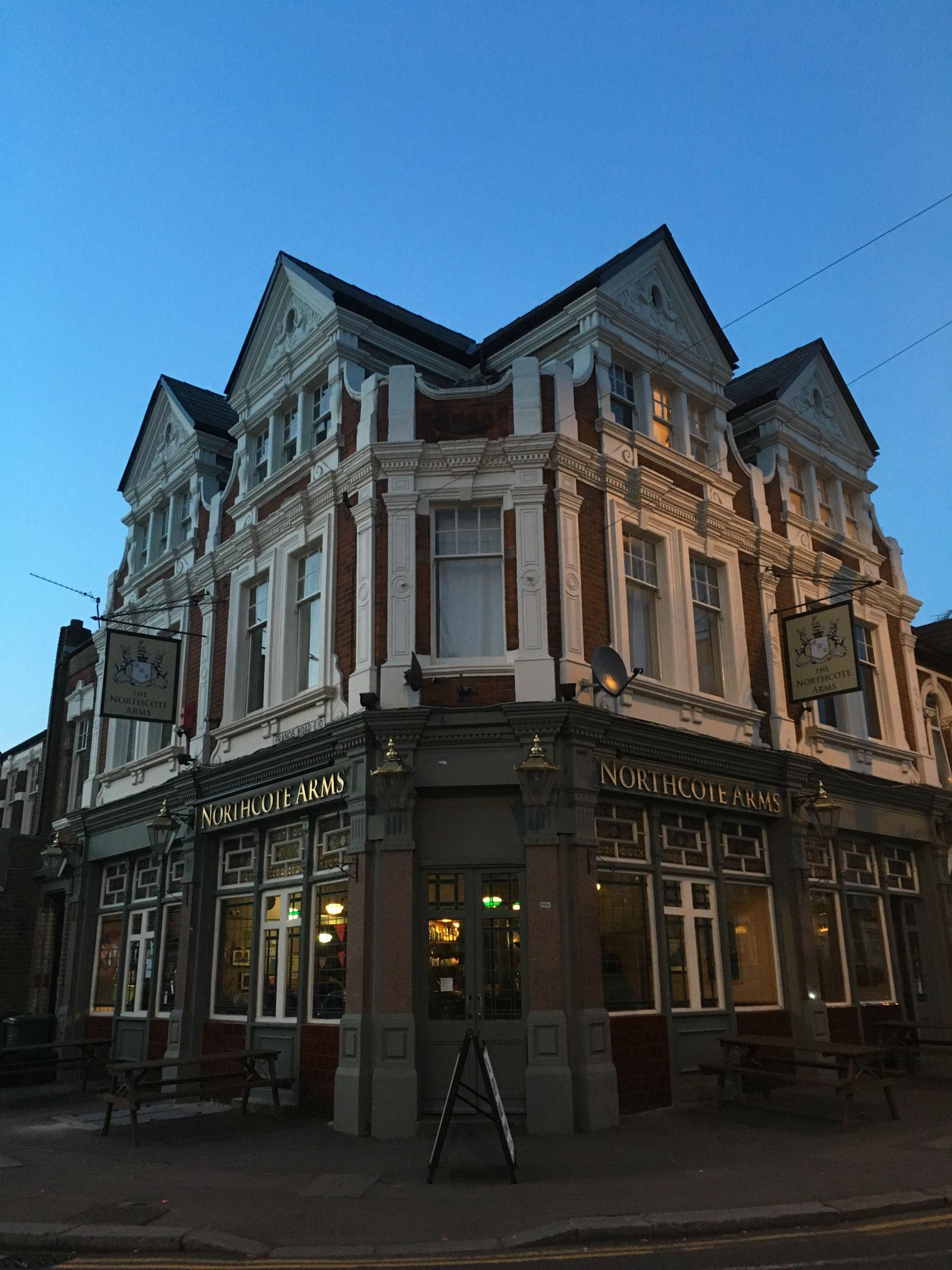 Majestic: exterior of London's friendliest pub. Photo: ME