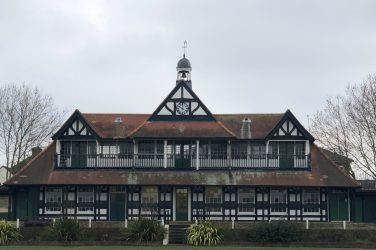 Leyton Cricket Pavillion exterior today